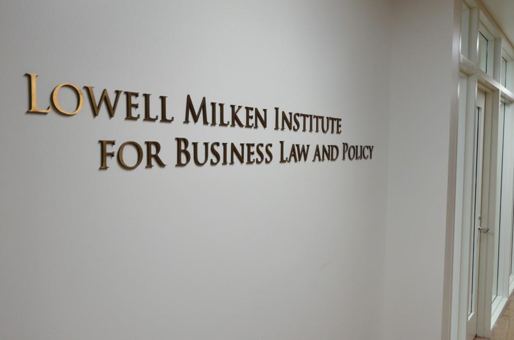 Milken sign