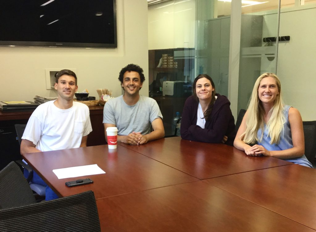 Business Law student organization leaders.