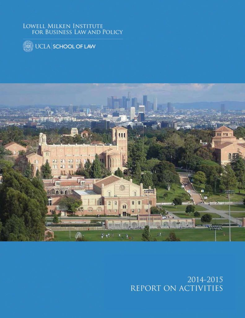 2014-2015 Report Cover