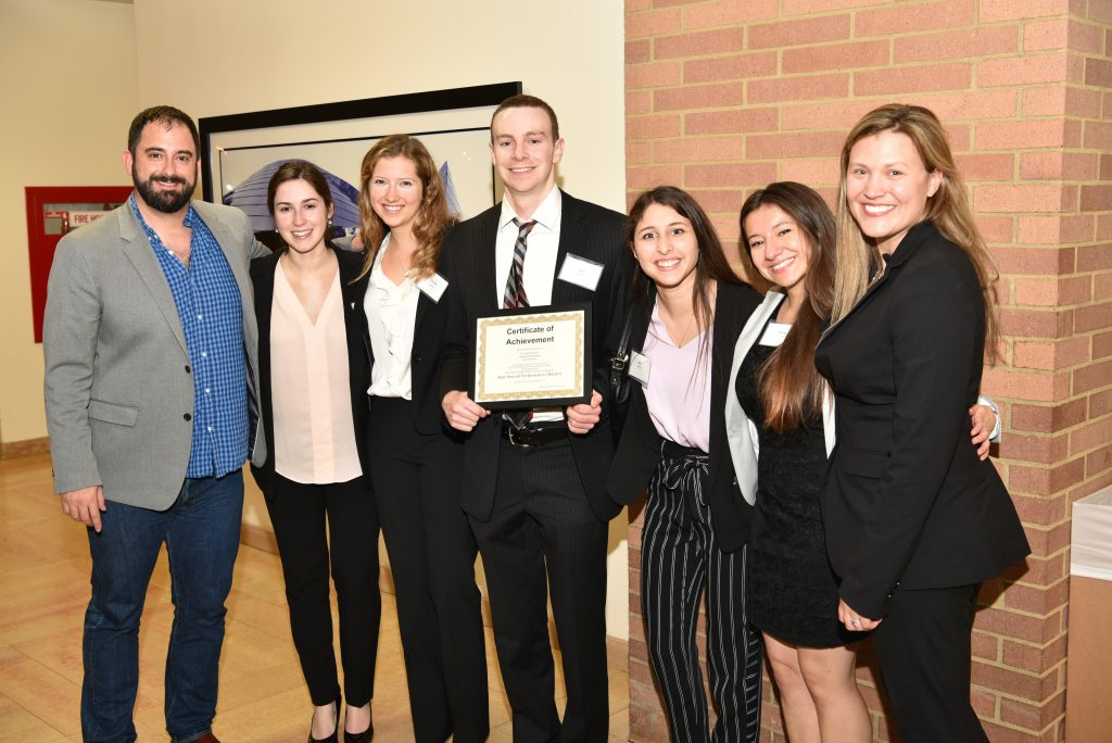 Participants in the UCLA Transactional Law Competition.